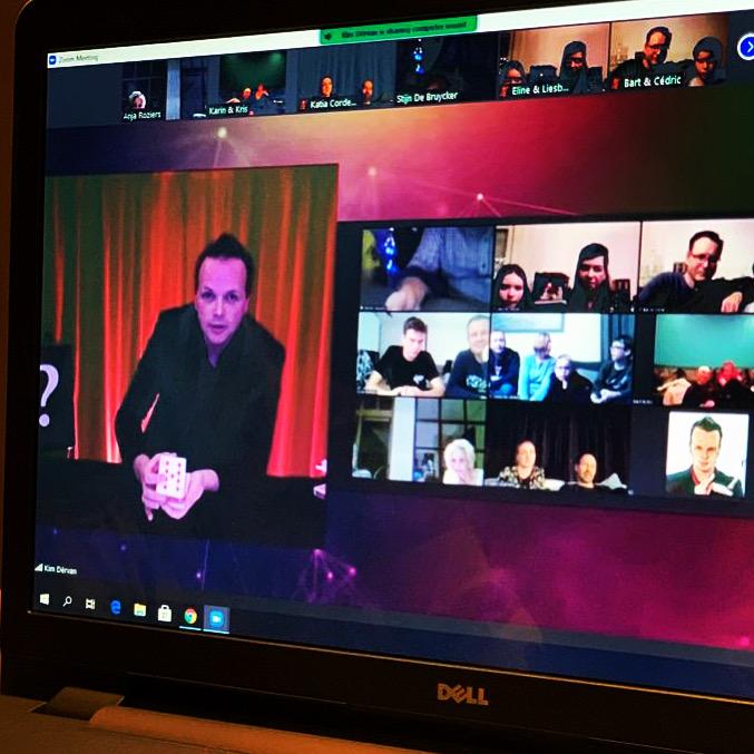 Online Show Interactief voor bedrijfsevent